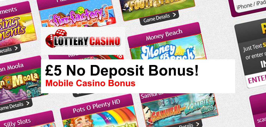 new no deposit bonus mobile casino