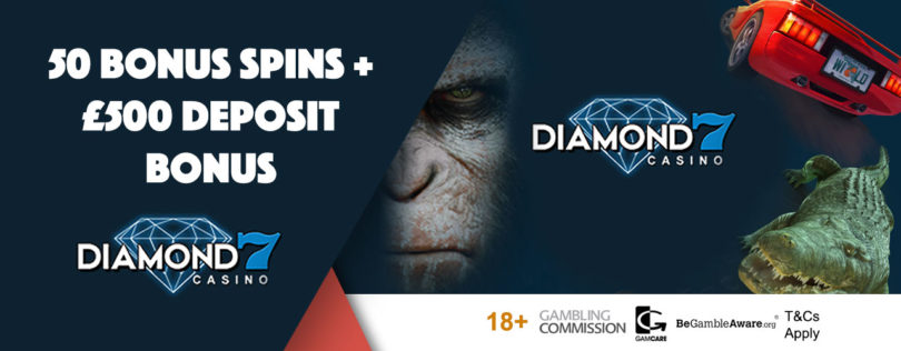 Diamond 7 Casino Welcome Bonus Offer